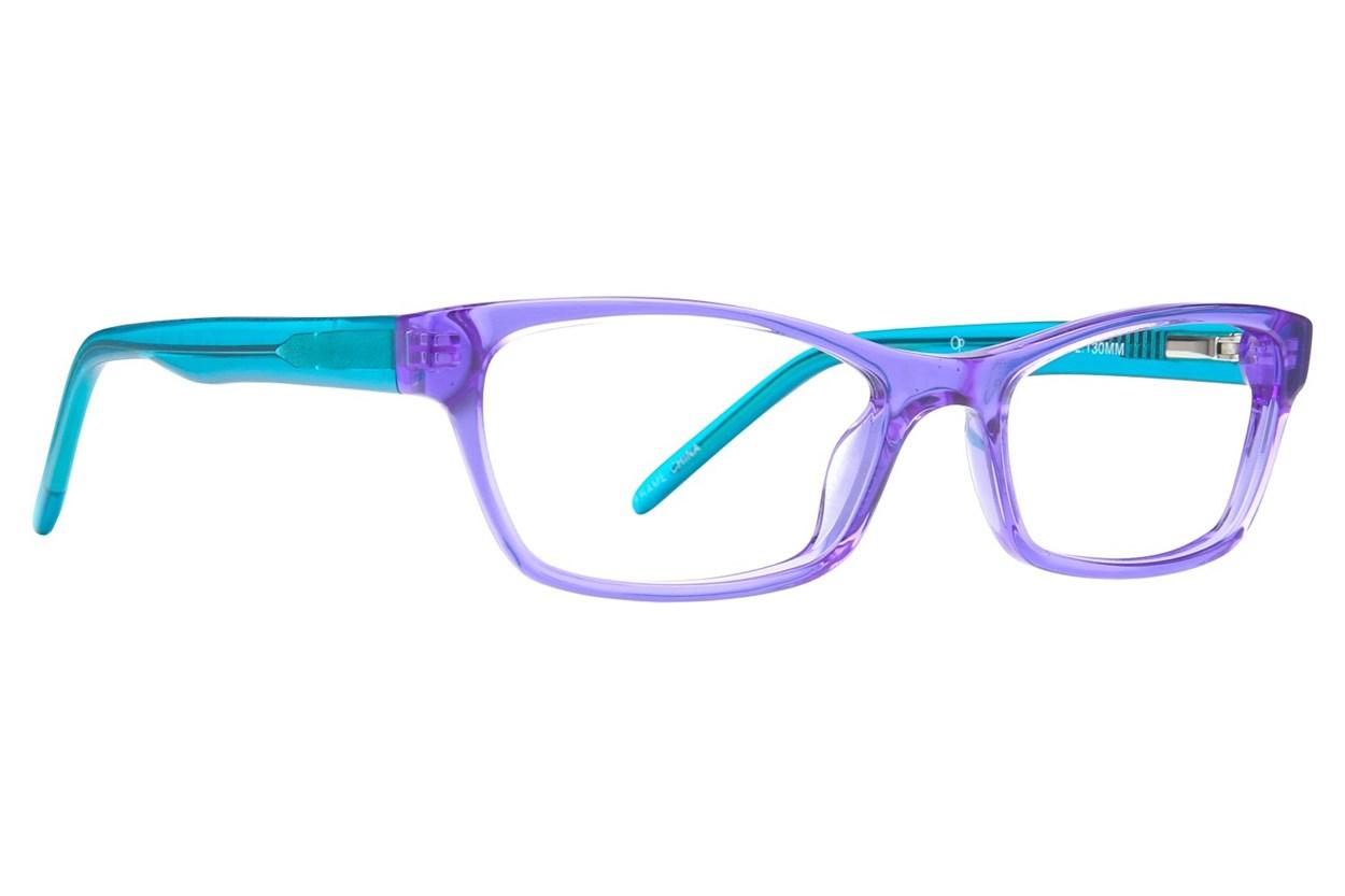 Ocean Pacific 843 Eyeglasses - Purple