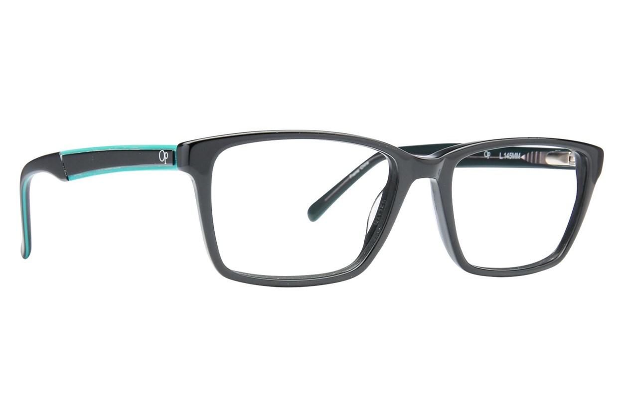Ocean Pacific Eagle Beach Eyeglasses - Black