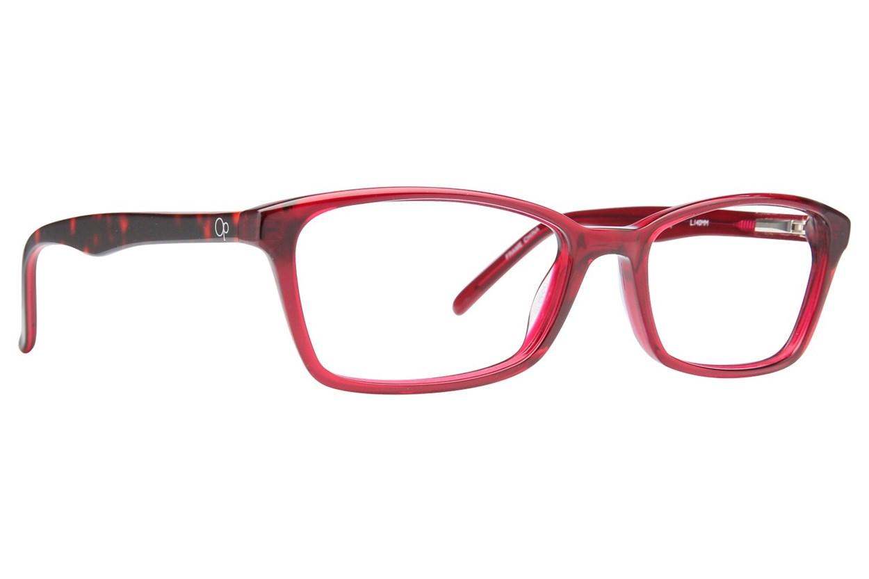 Ocean Pacific Flamenco Beach Eyeglasses - Red