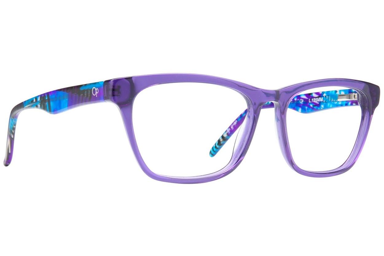 Ocean Pacific Manhattan Beach Eyeglasses - Purple