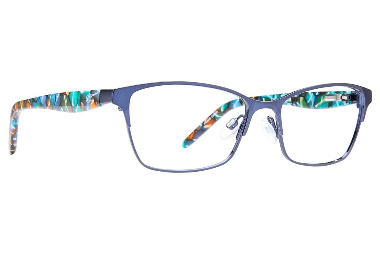 Ocean Pacific Rippin Eyeglasses - Blue