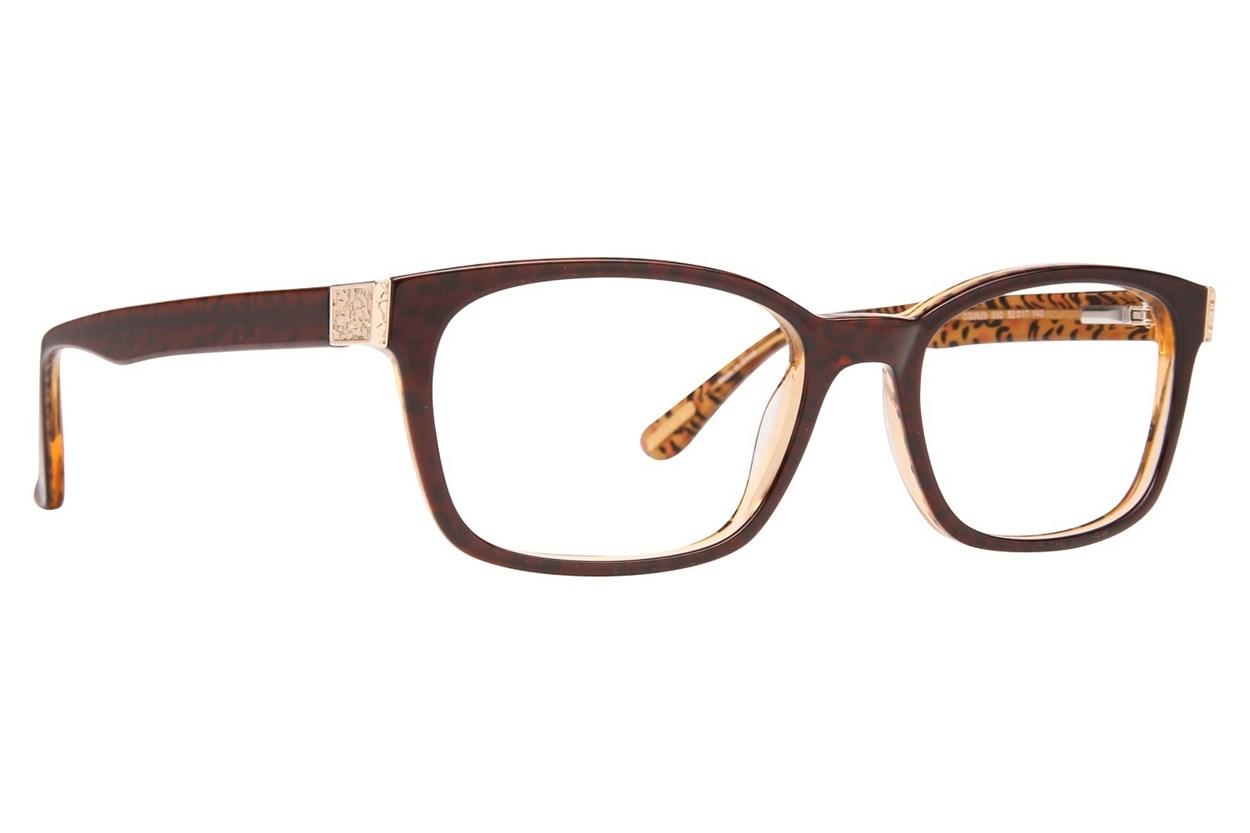 Covergirl CG0529 Eyeglasses - Brown