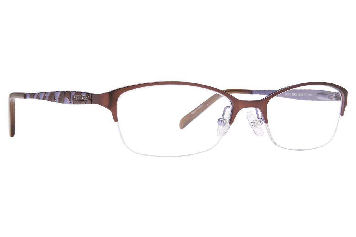Rampage RA0174 Eyeglasses - Brown