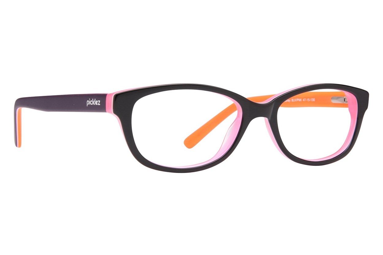 Picklez Bailey Eyeglasses - Black