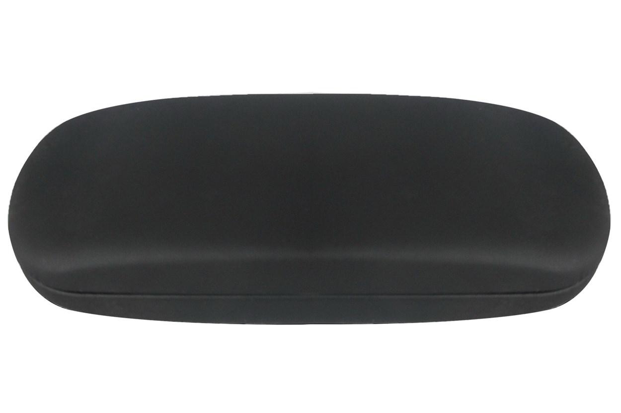 Opti-Pak Matte Clamshell Eyeglass Case GlassesCases - Black