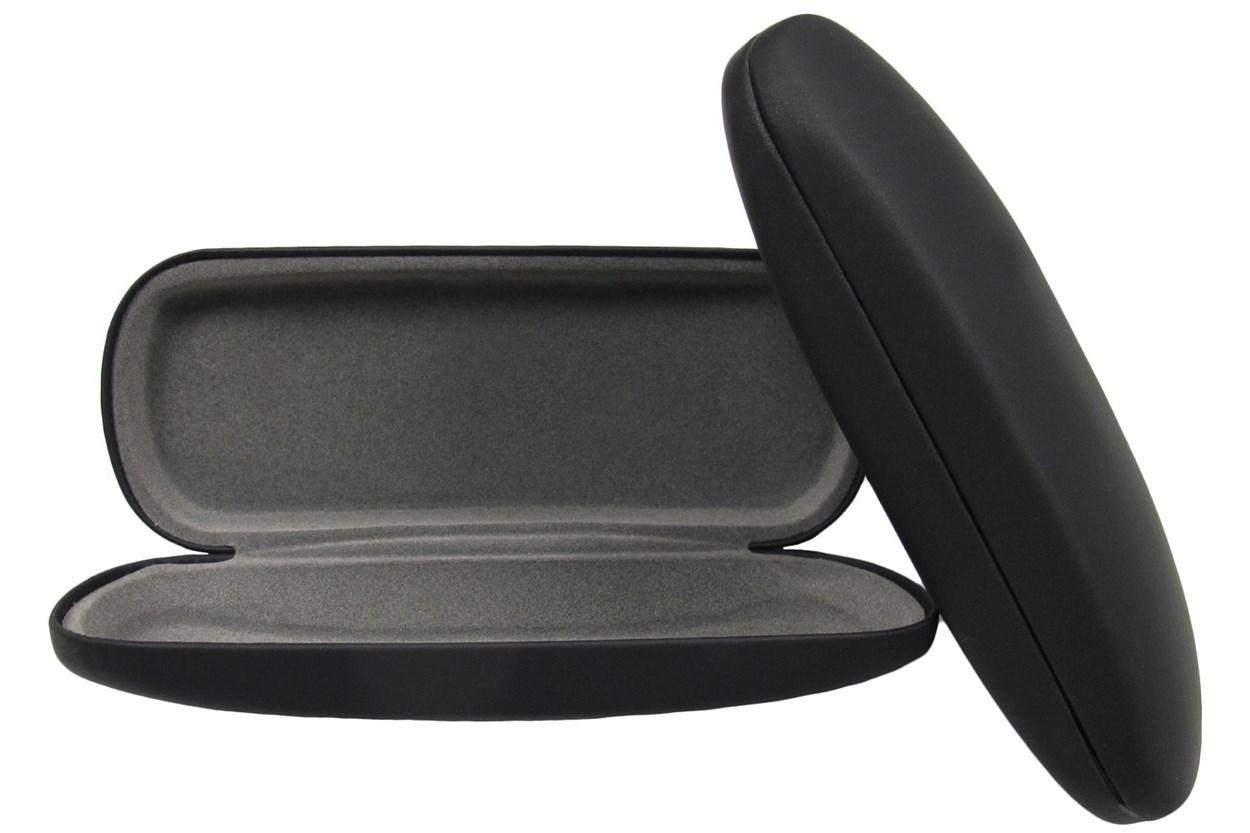 Alternate Image 1 - Opti-Pak Matte Clamshell Eyeglass Case GlassesCases - Black