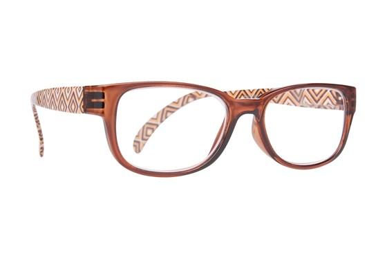 Evolutioneyes EY833Z Reading Glasses ReadingGlasses - Brown