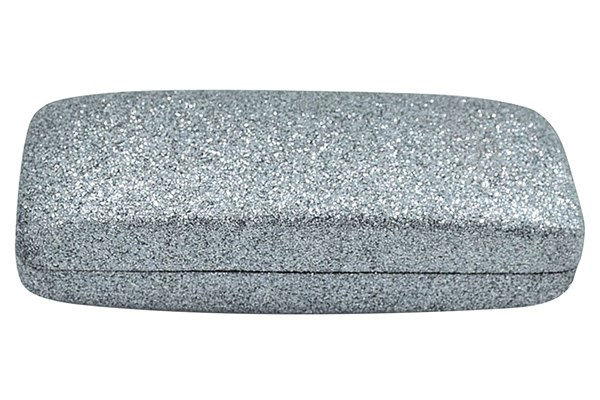 Evolutioneyes Mega Glitter Eyeglass Case 50 - Gray