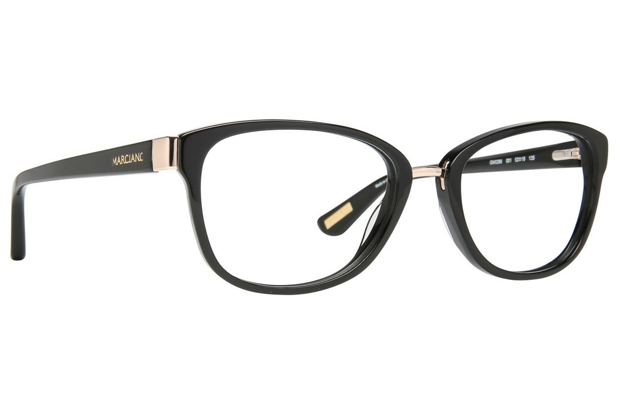 GUESS By Marciano GM 0286 Eyeglasses - Black