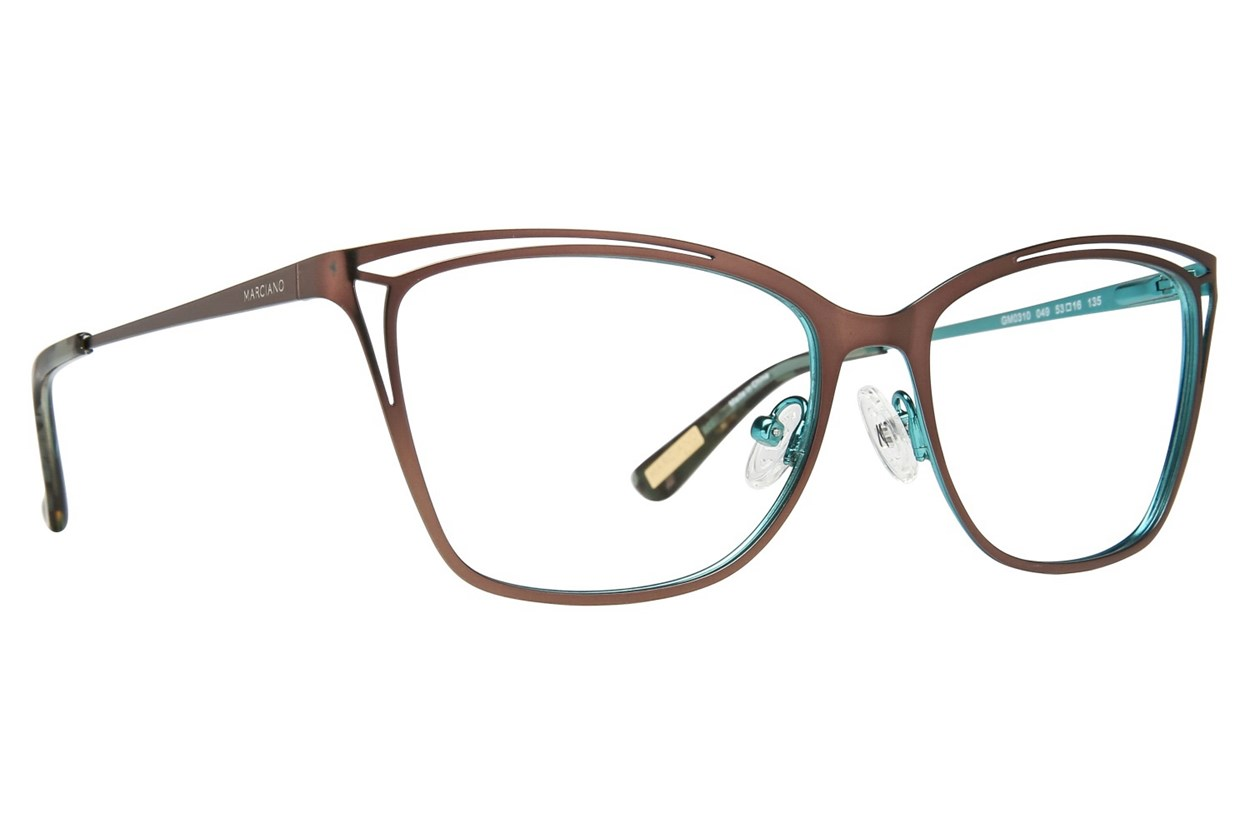 GUESS By Marciano GM 0310 Eyeglasses - Brown