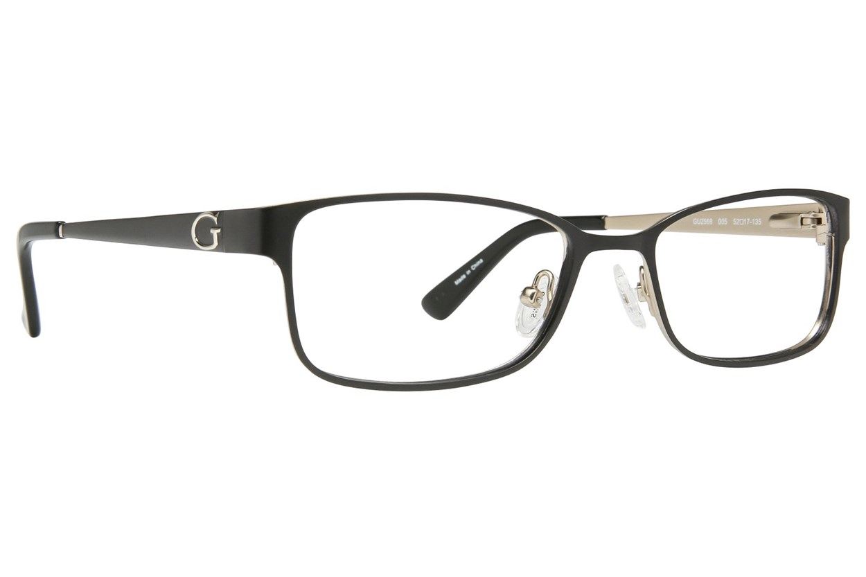 GUESS GU 2568 Eyeglasses - Black
