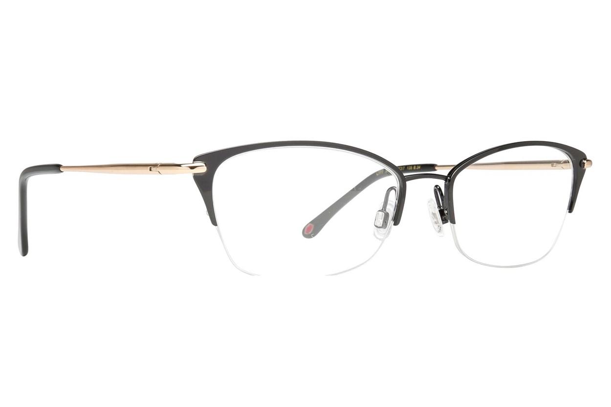 Lulu Guinness L777 Eyeglasses - Black
