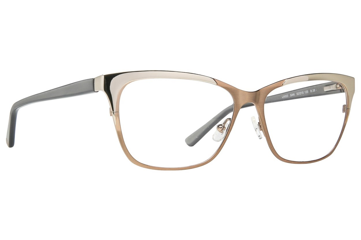 L.A.M.B. By Gwen Stefani LA023 Eyeglasses - Tan