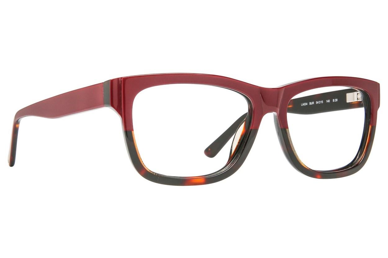 L.A.M.B. By Gwen Stefani LA034 Eyeglasses - Wine