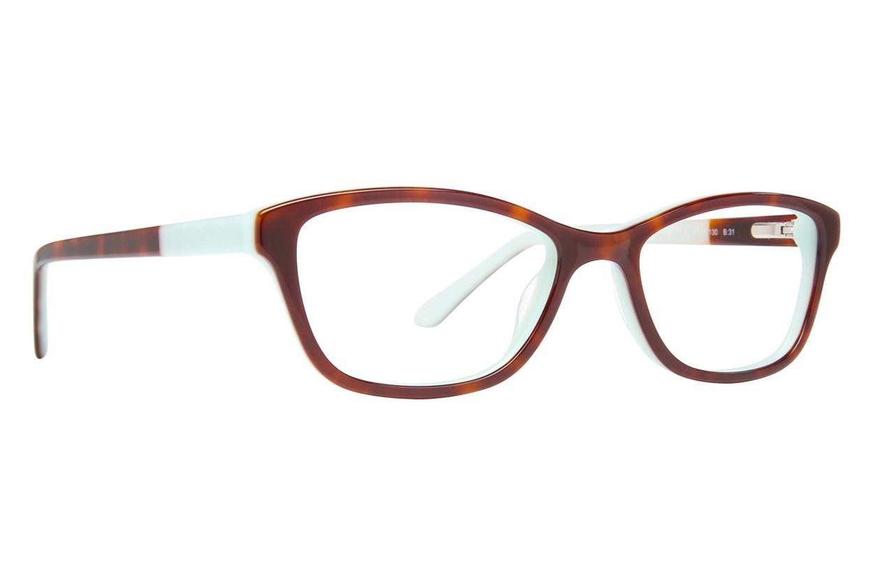 Lulu Guinness LK002 Eyeglasses - Tortoise