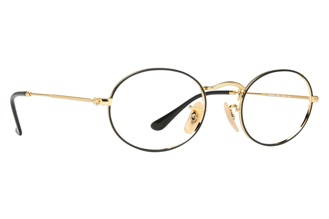 Ray-Ban® RX3547V Eyeglasses - Gold