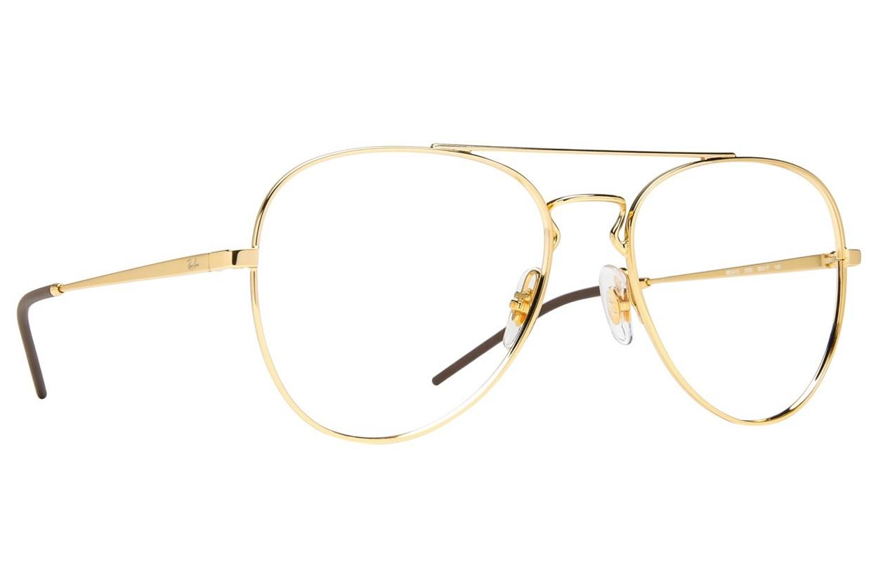 Ray-Ban® RX6413 Eyeglasses - Gold