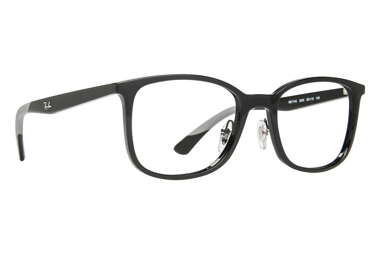 Ray-Ban® RX7142 Eyeglasses - Black