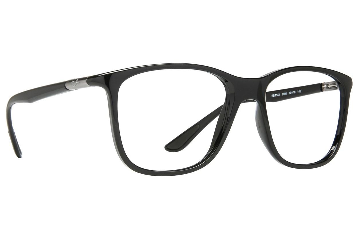 Ray-Ban® RX7143 Eyeglasses - Black