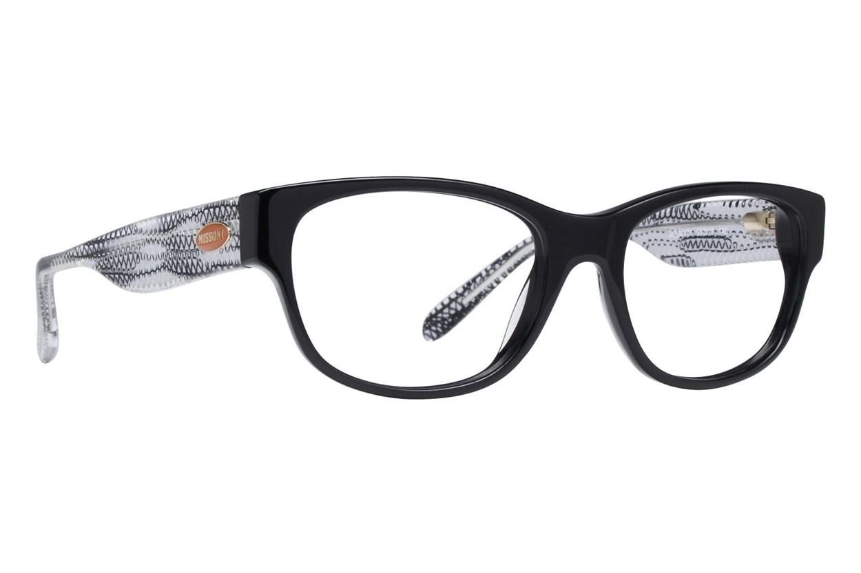 Missoni MI334V Eyeglasses - Black