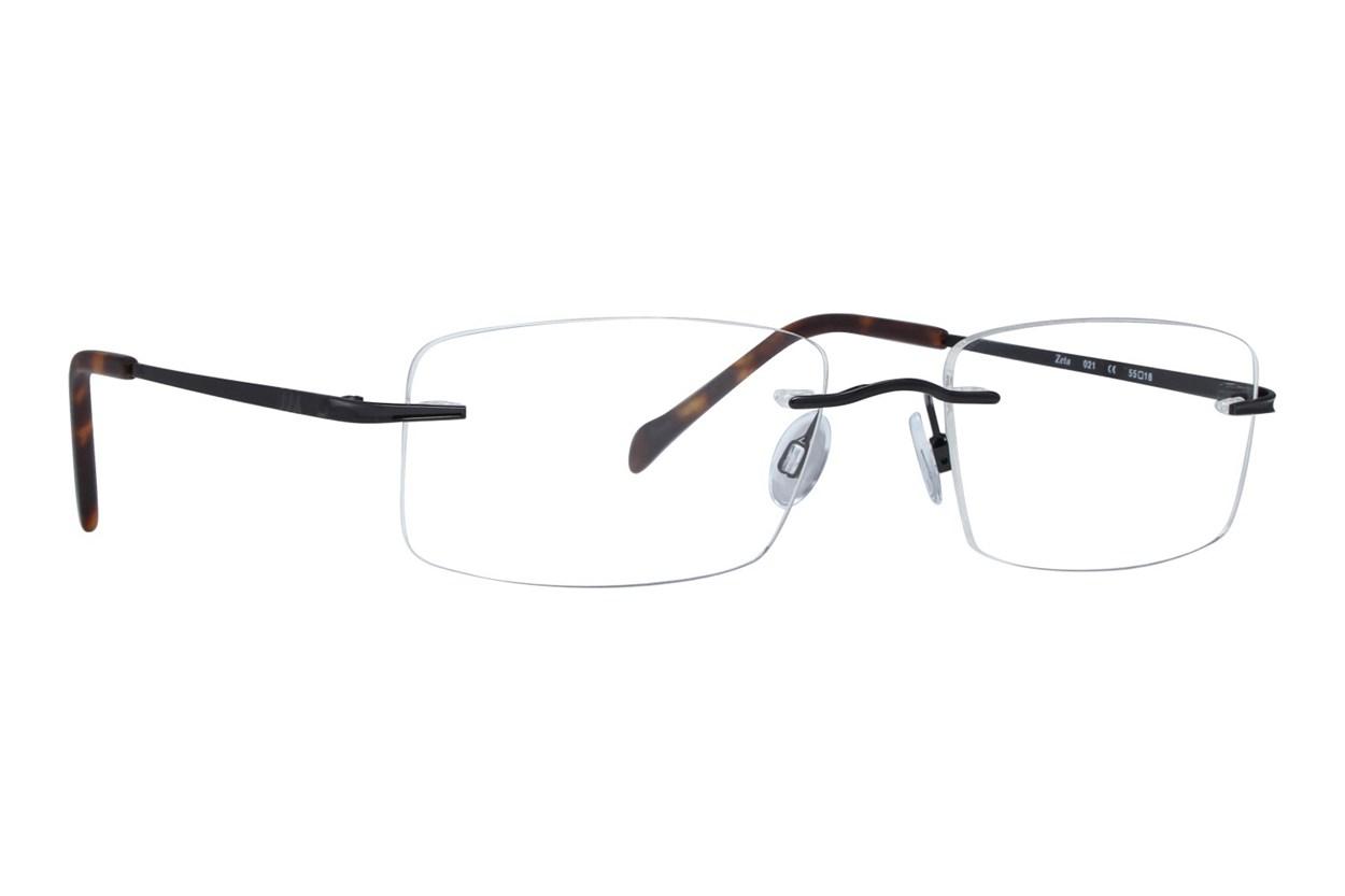 Invincilites Zeta 104 Eyeglasses - Black