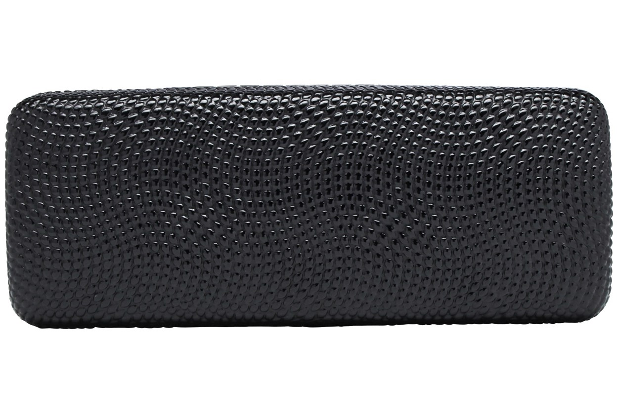 Evolutioneyes Textured Pebble Eyeglass Case GlassesCases - Black
