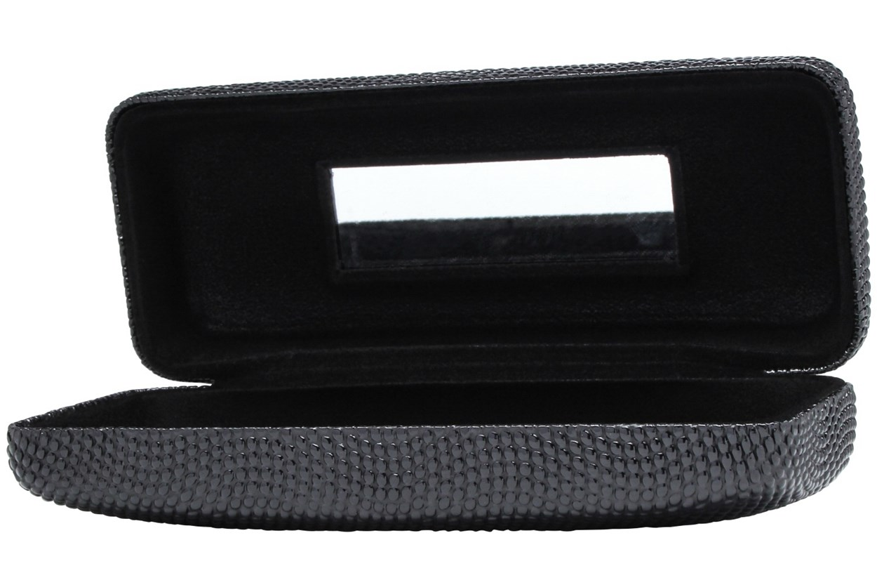 Alternate Image 1 - Evolutioneyes Textured Pebble Eyeglass Case GlassesCases - Black