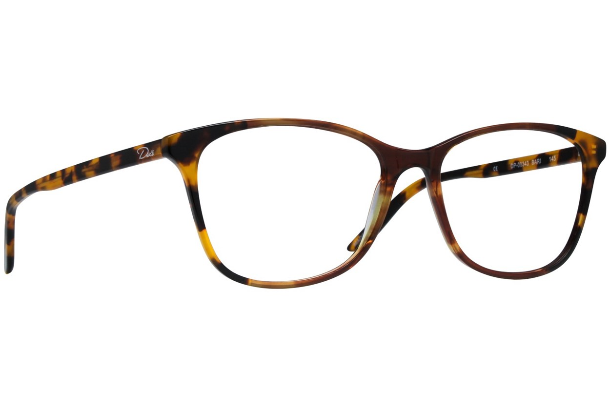 Dea Extended Size Bari Eyeglasses - Brown