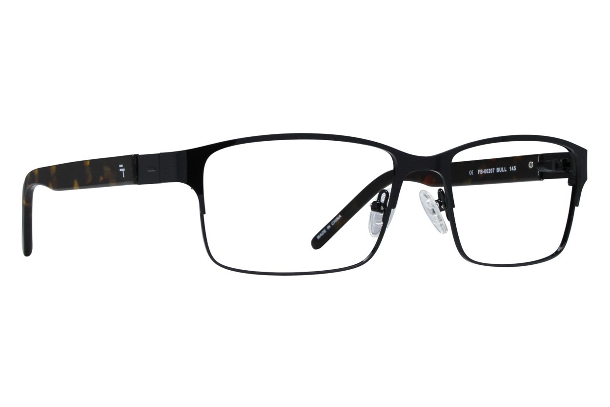Fatheadz Bull Eyeglasses - Black