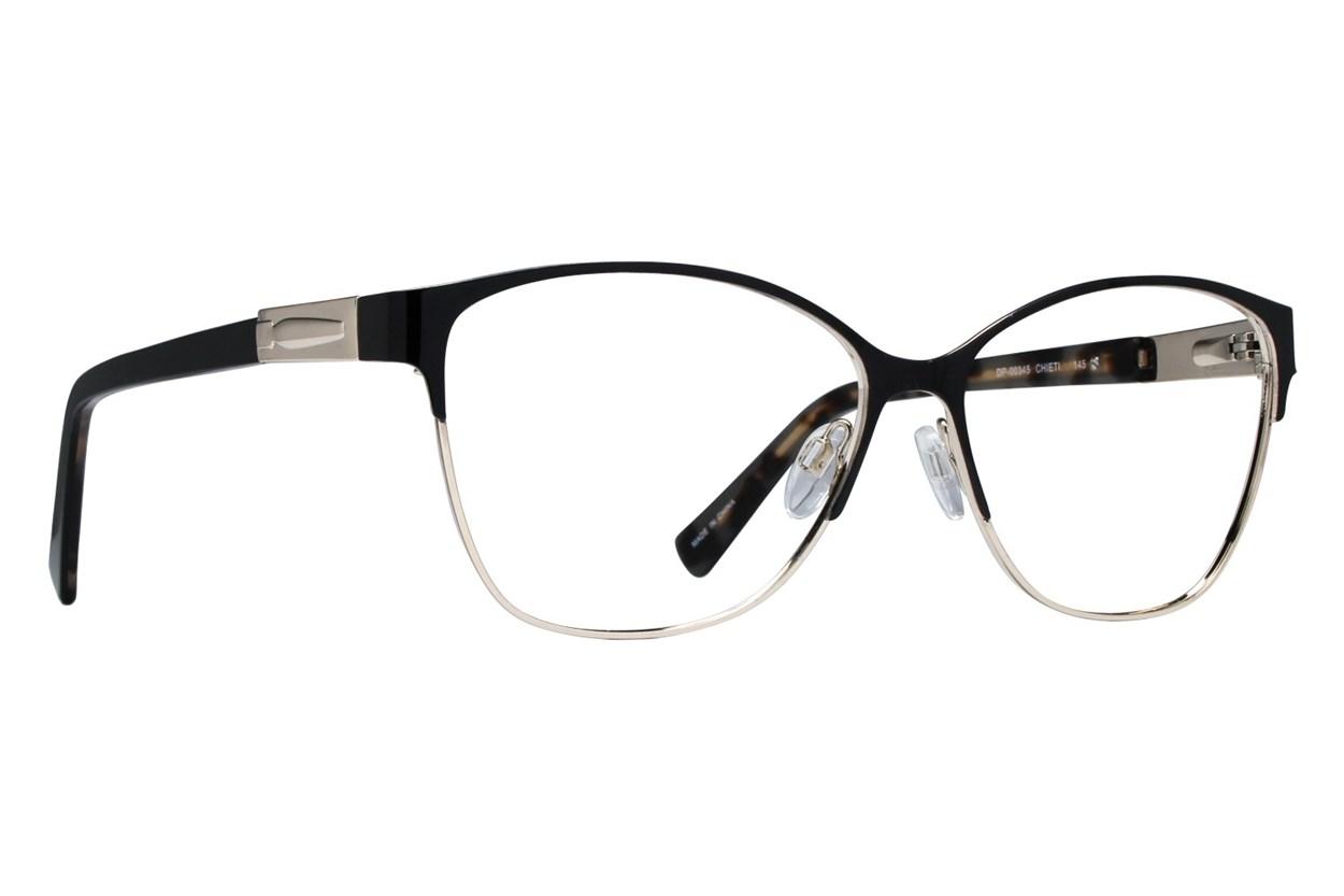 Dea Extended Size Chieti Eyeglasses - Black