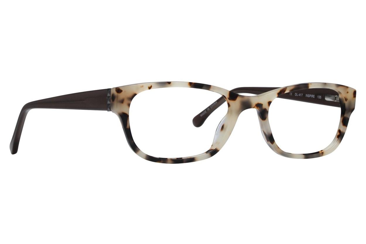 One Love Petite Inspire Eyeglasses - Brown