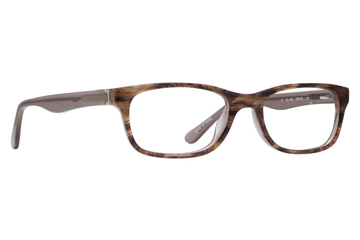 One Love Petite Grace Eyeglasses - Brown