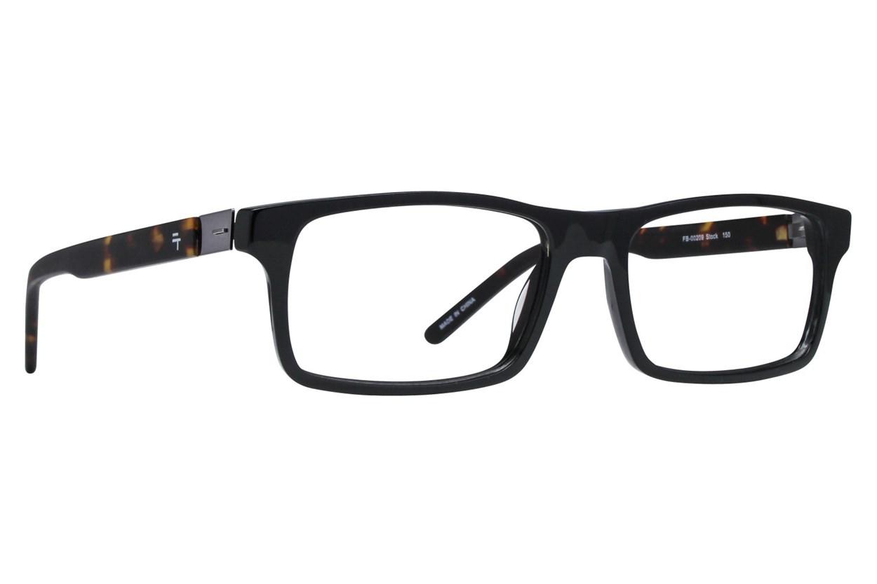 Fatheadz Stock Eyeglasses - Black