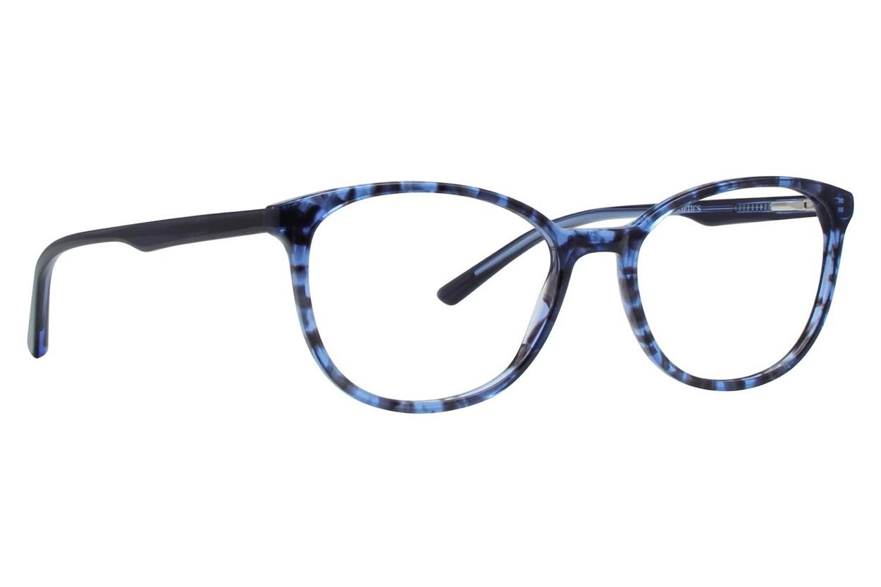 Bloom Optics Petite April Eyeglasses - Blue