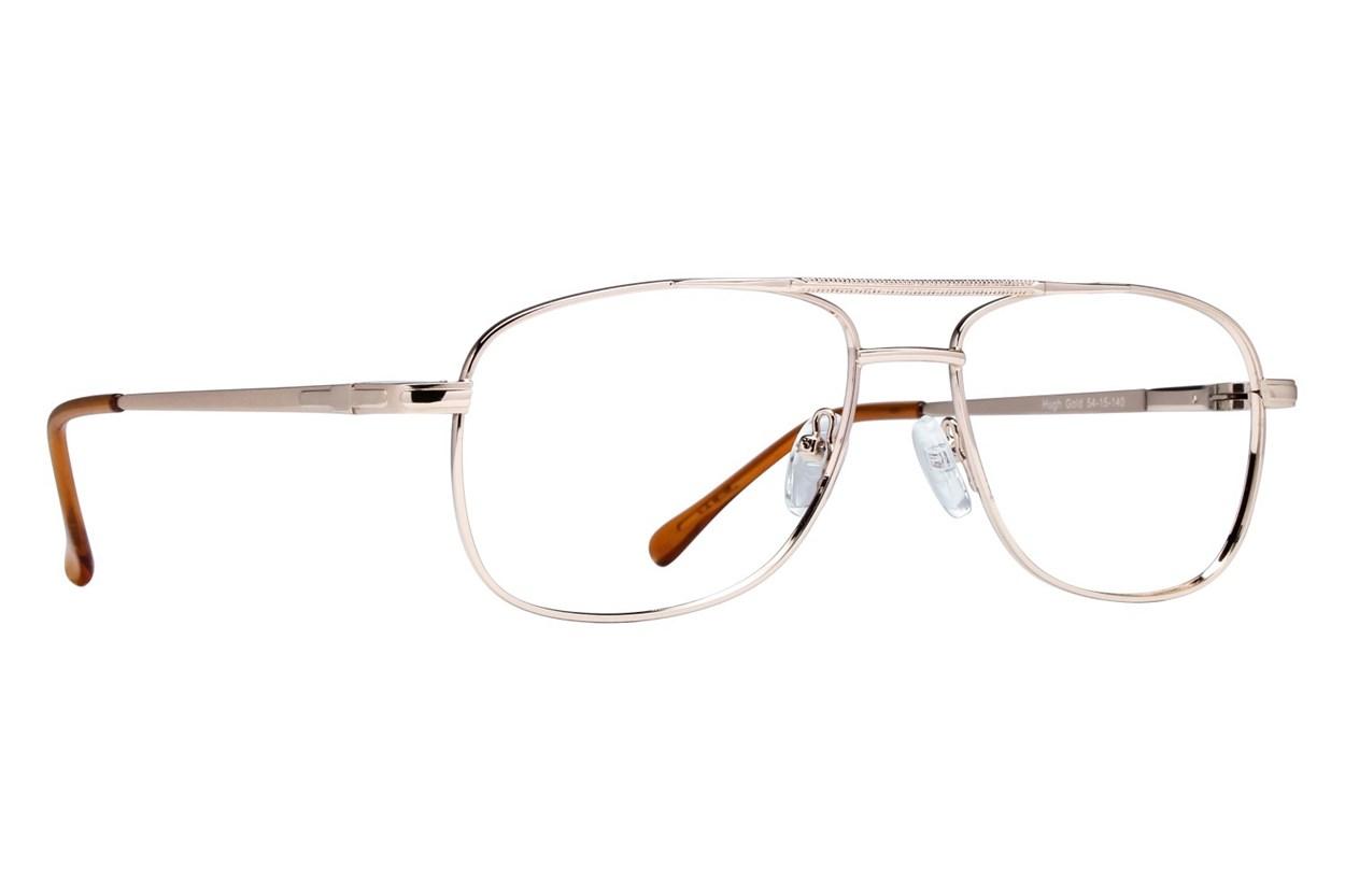Lunettos Hugh Eyeglasses - Gold