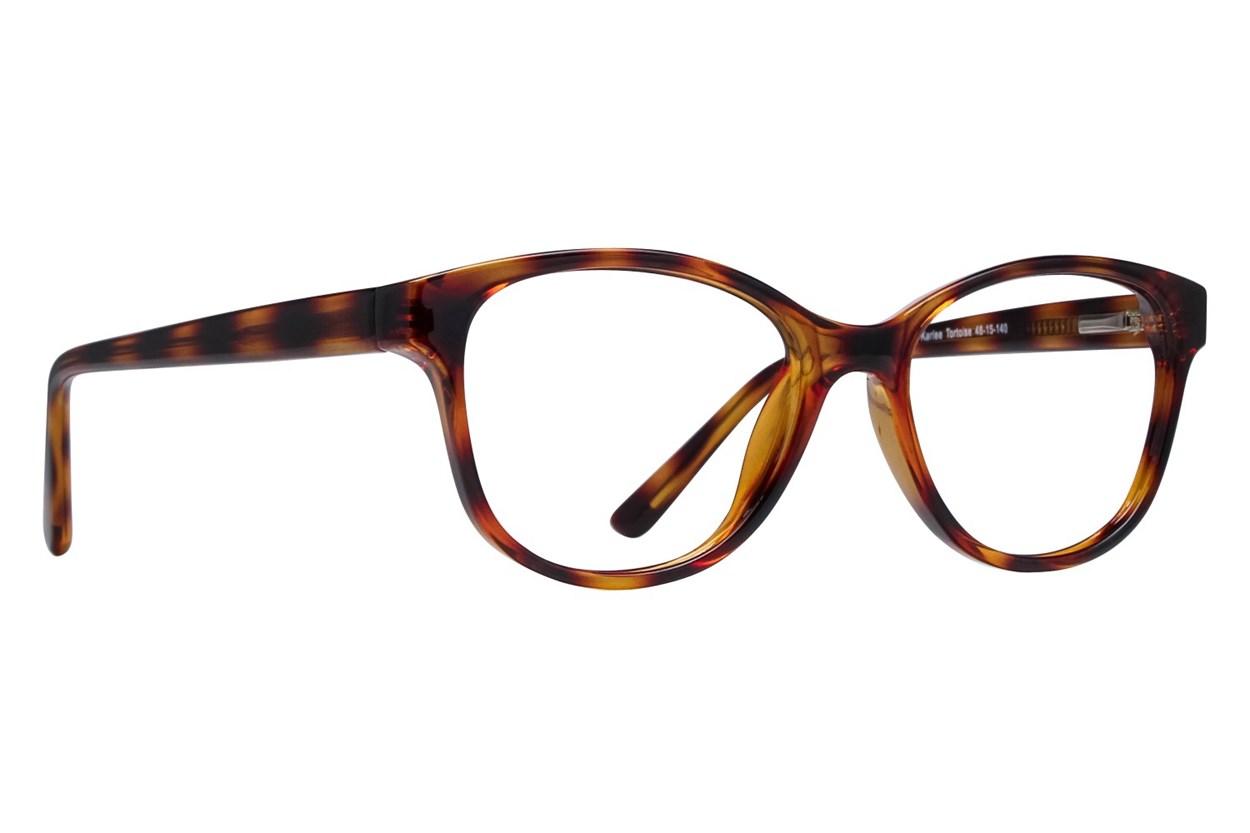 Lunettos Karlee Eyeglasses - Tortoise