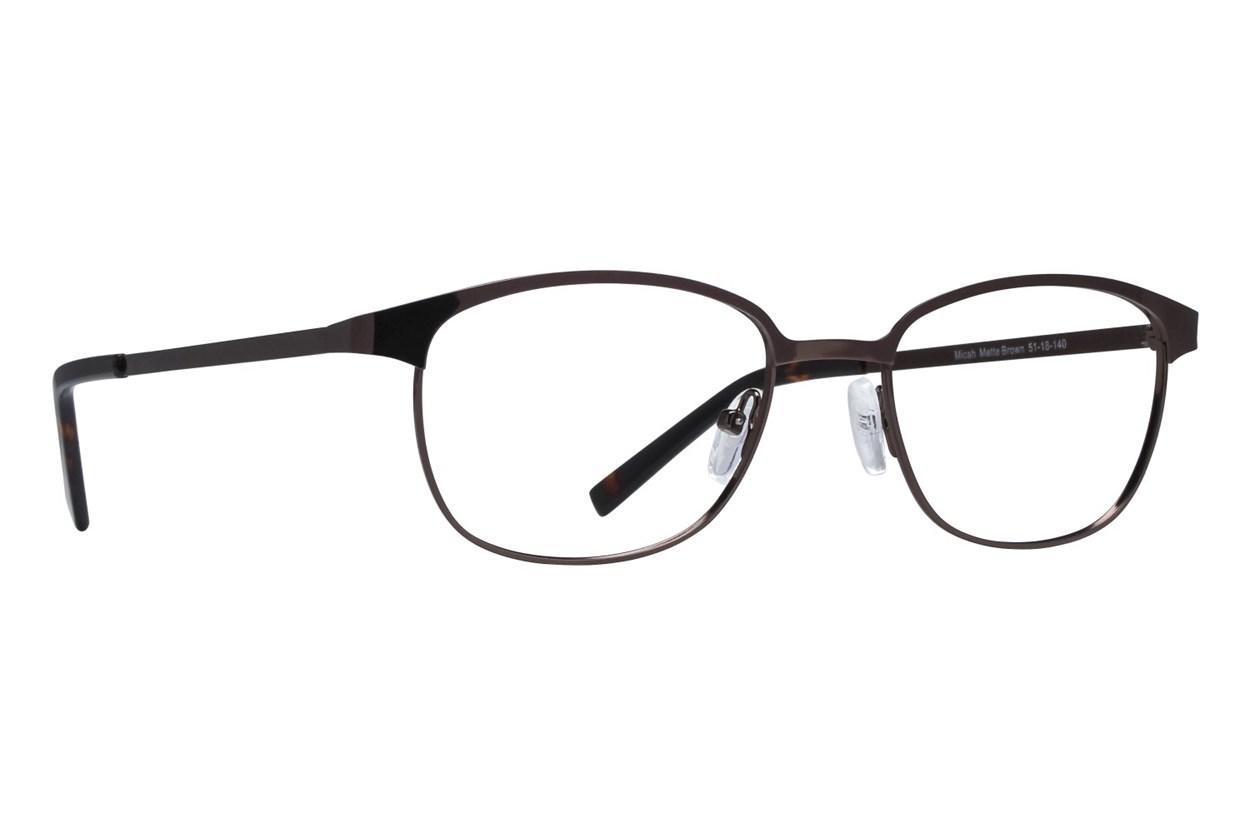 Lunettos Micah Eyeglasses - Brown
