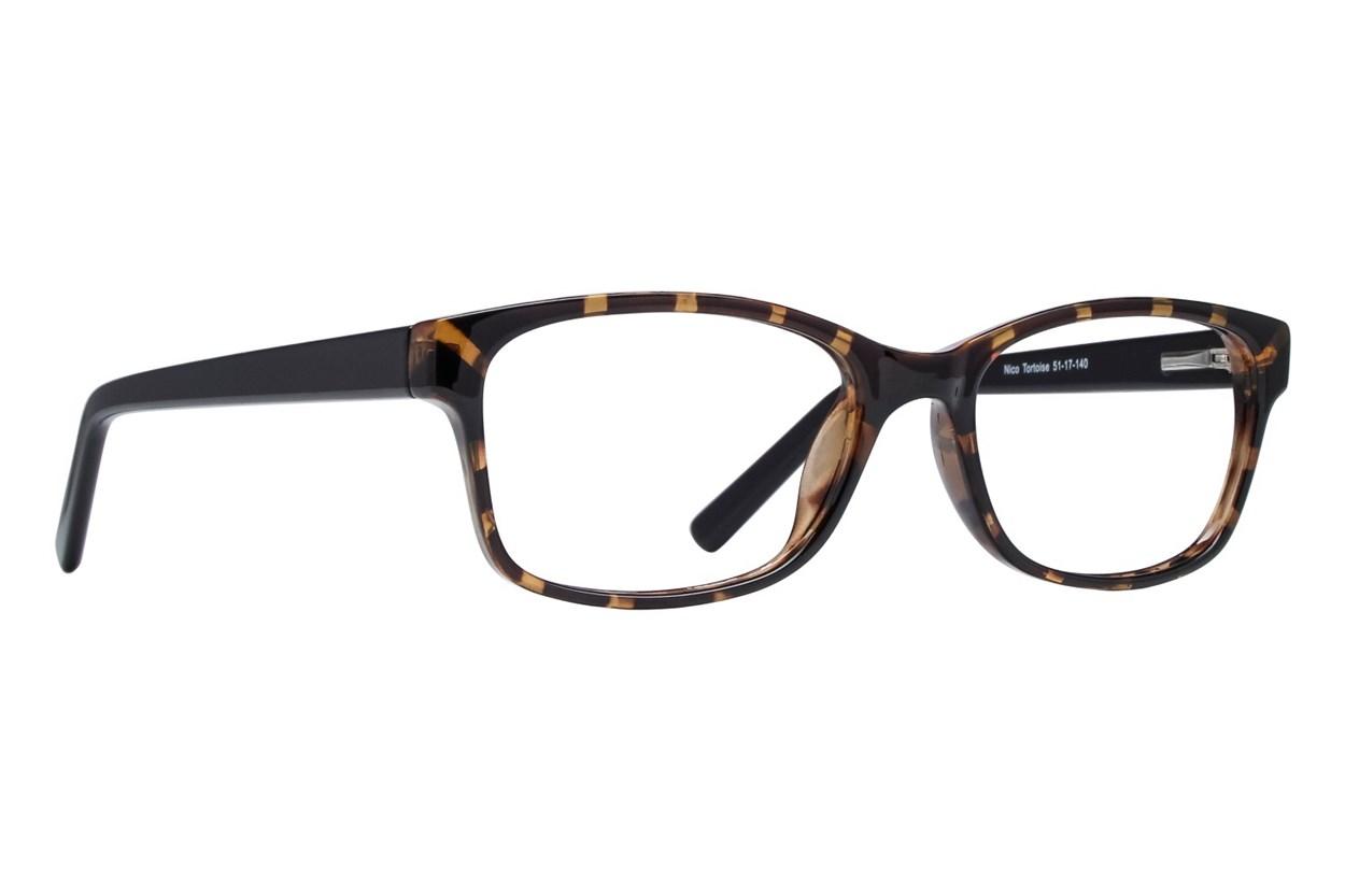 Lunettos Nico Eyeglasses - Tortoise