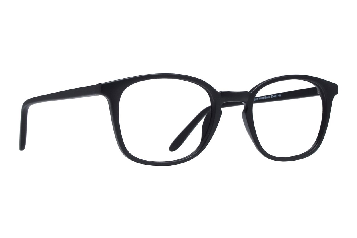 Lunettos Reagan Eyeglasses - Black