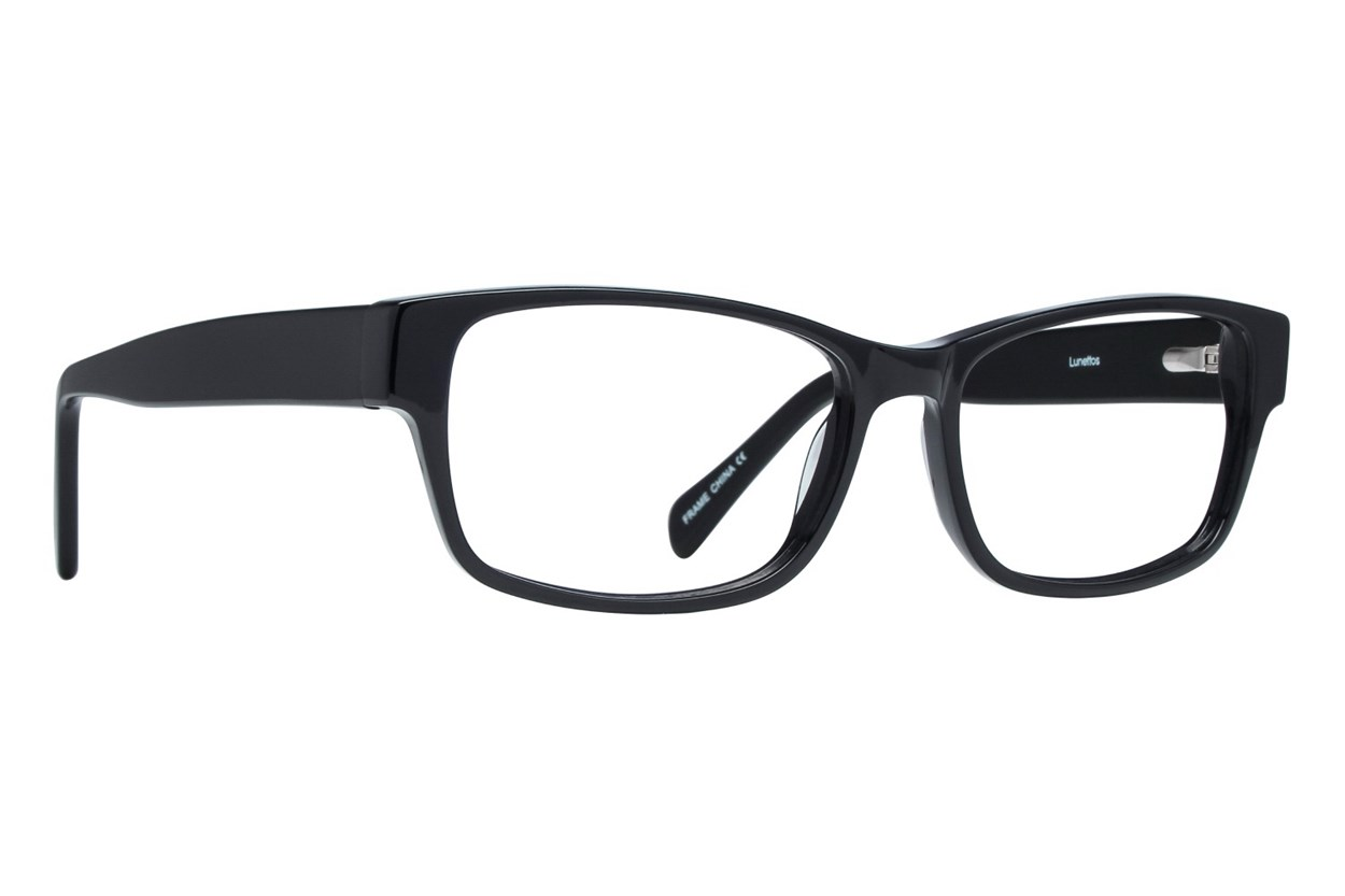 Lunettos Taylor Large Eyeglasses - Black