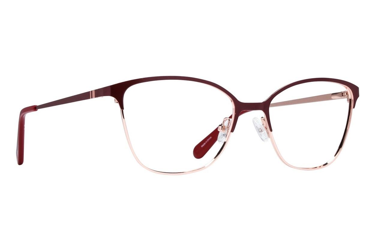 Covergirl CG0472 Eyeglasses - Red