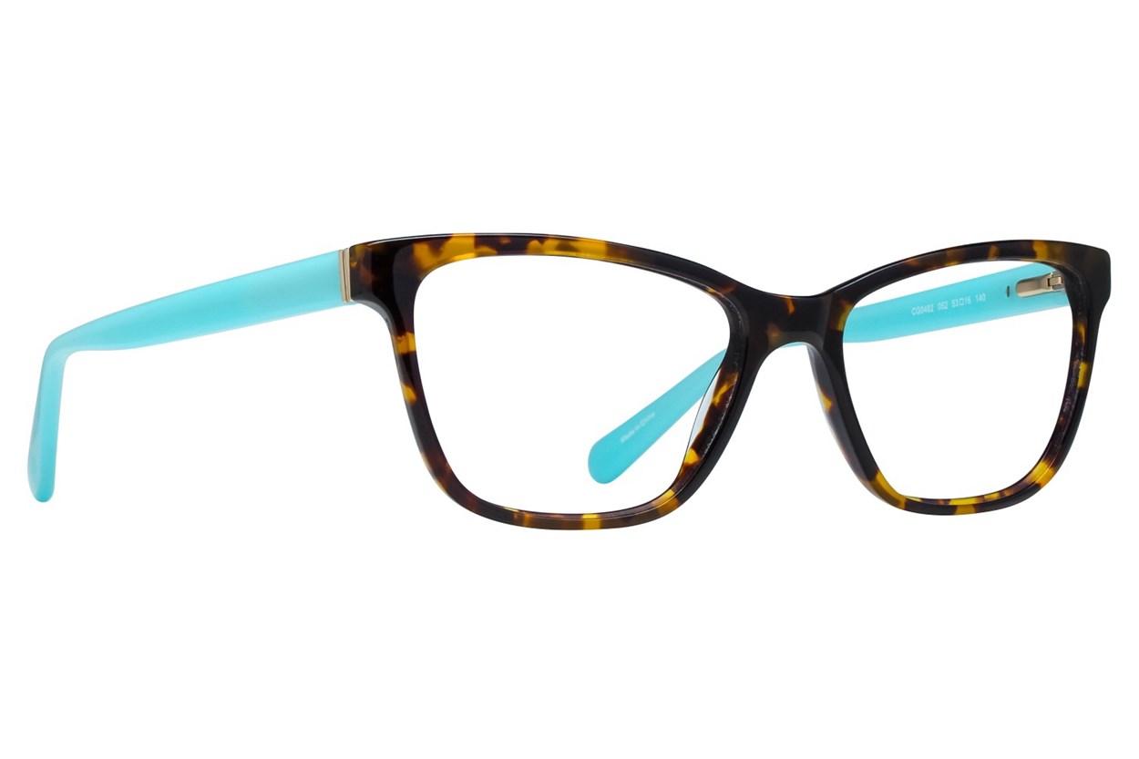 Covergirl CG0482 Eyeglasses - Tortoise