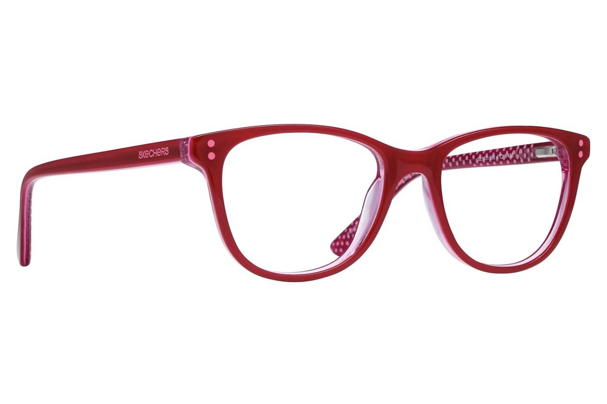 Skechers SE1631 Eyeglasses - Red