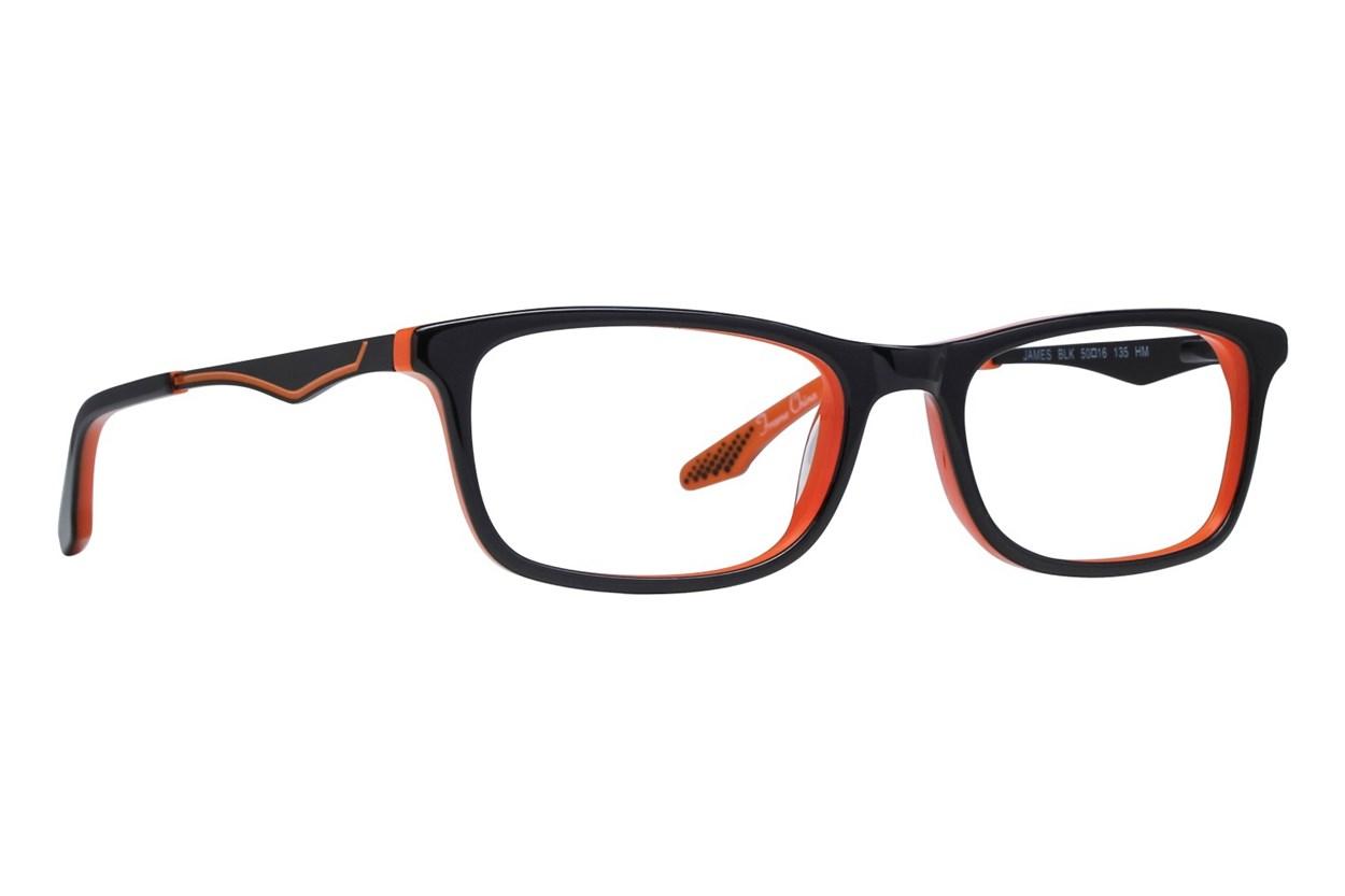 NERF James Eyeglasses - Black