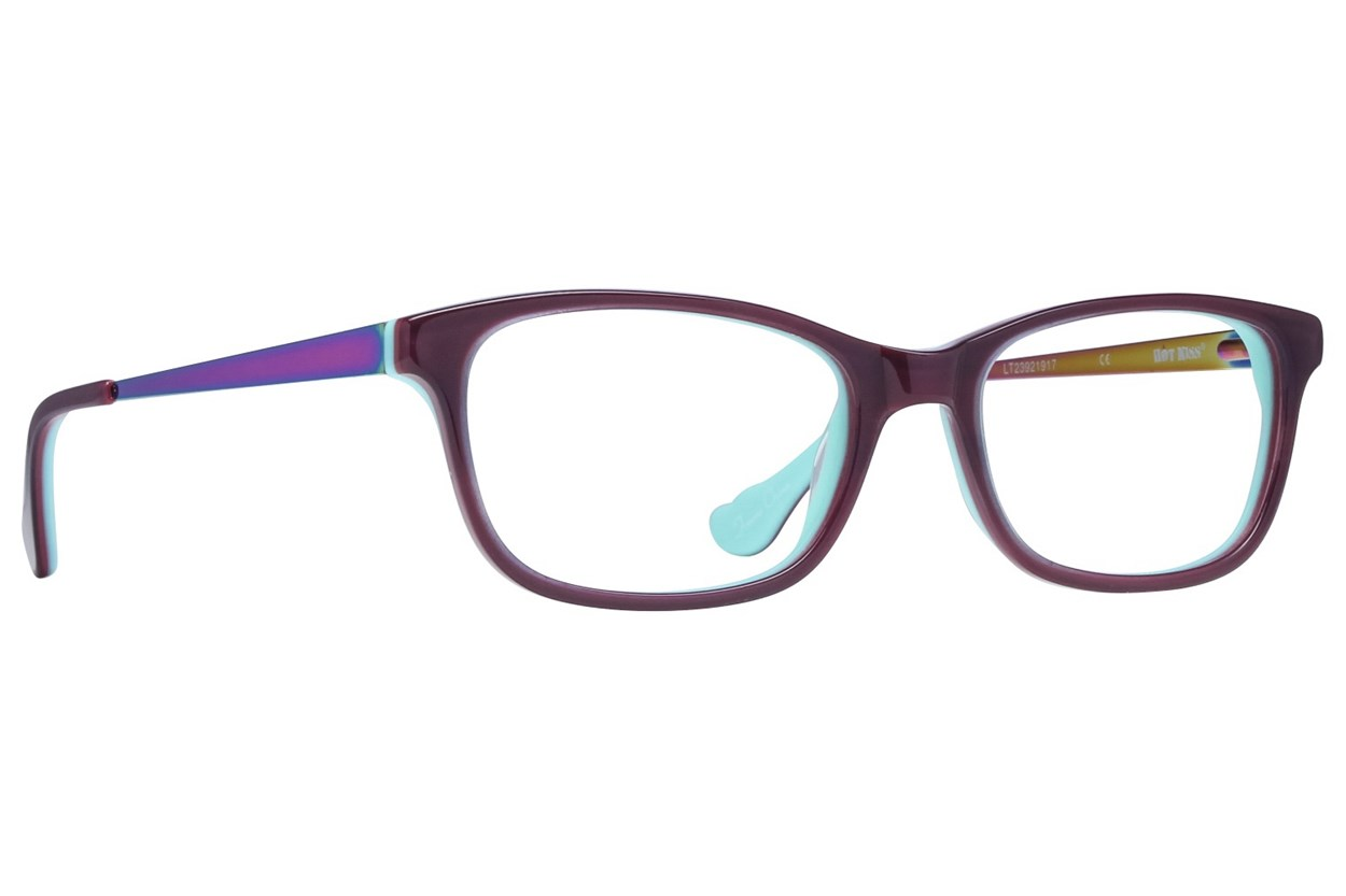 Hot Kiss HK76 Eyeglasses - Purple
