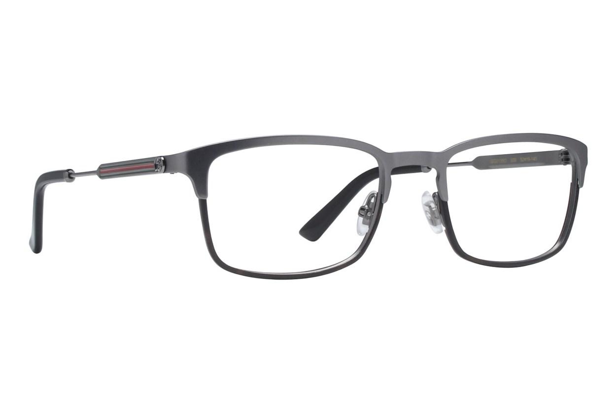 Gucci GG0135O Eyeglasses - Silver