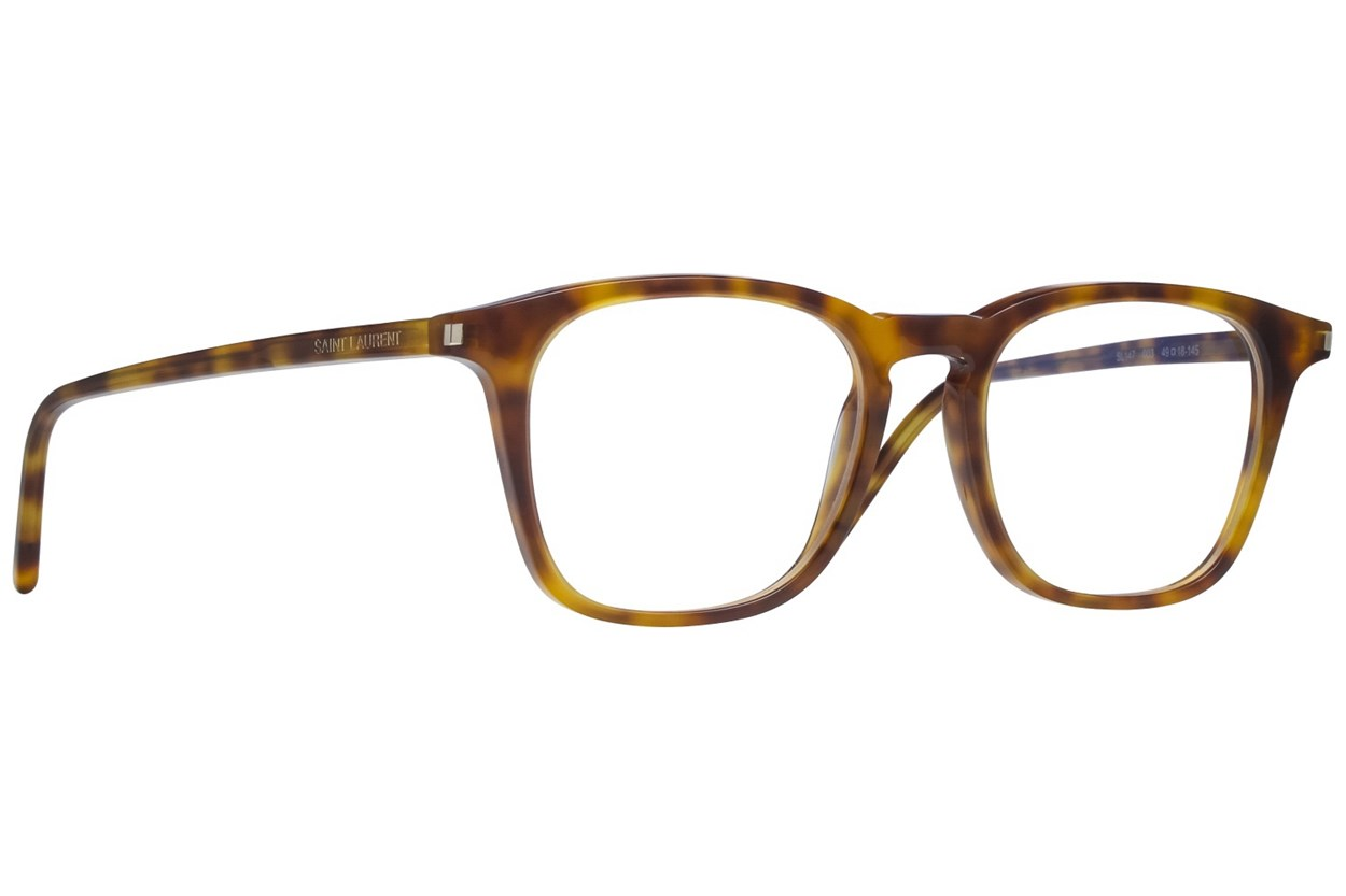 Saint Laurent SL147 Eyeglasses - Tortoise