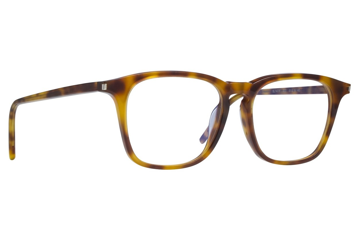 Saint Laurent SL147F Eyeglasses - Tortoise