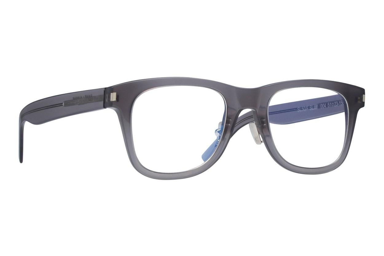 Saint Laurent SL50FSLIM Eyeglasses - Gray