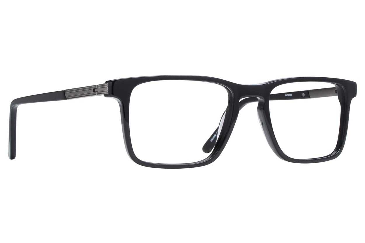 Lunettos Dante Eyeglasses - Black